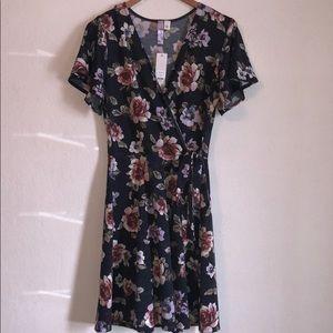 Never worn faux wrap dress from Francesca's